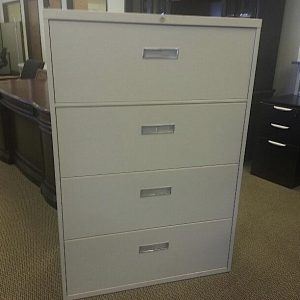 Used Steelcase 4 Drawer 800 Series Lateral File