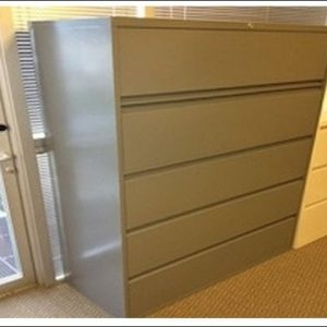Used Steelcase 5 Drawer Lateral Files