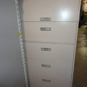 "Steelcase 800 Series 36"" 5-drawer Lateral File Cabinets"