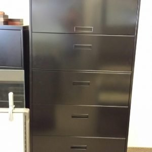 Used Steelcase 900 Series 5 Drawer File Cabinets