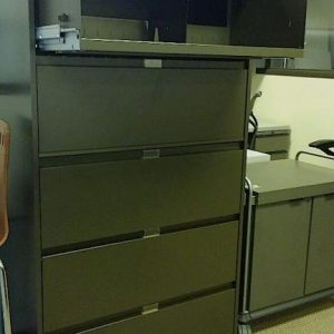 Used Steelcase 900 Series 5 Drawer 36inch Wide Lateral File Cabinets