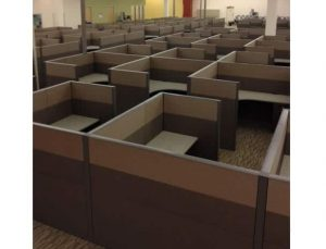 used Steelcase Answer Cubicles 6x6x53