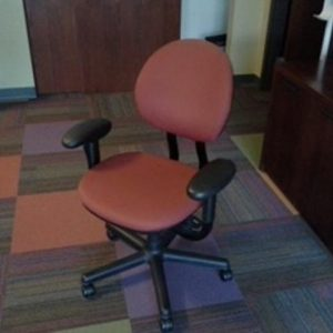 Used Steelcase Criterion Task Chair Red