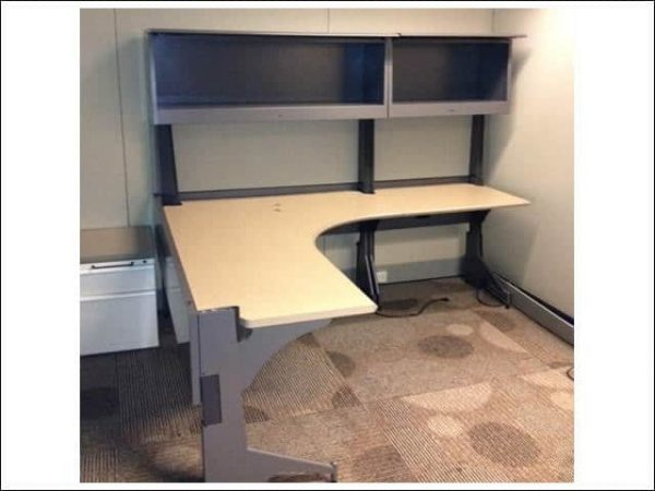 Used Steelcase L Shape Desks