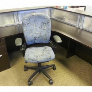 Secondhand Steelcase Leap chairs