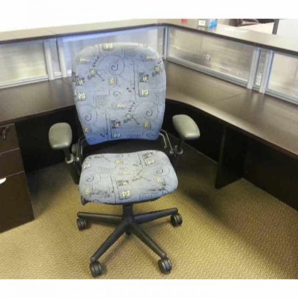 used Steelcase Leap chairs