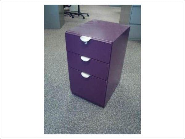 Used Steelcase Mobile 6/6/12 Box/Box/File Pedestal