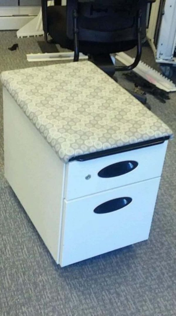 Used Steelcase File/File Pedestals with Cushion