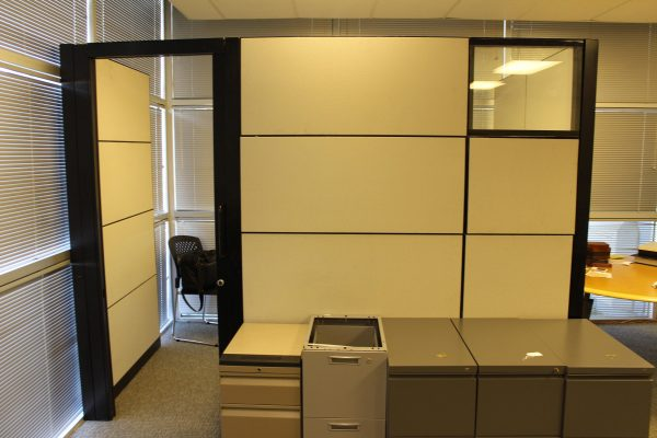 Steelcase Montage Cubicles w/Sliding Door