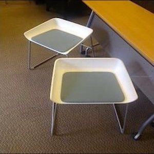 Used Steelcase Scoop Chairs