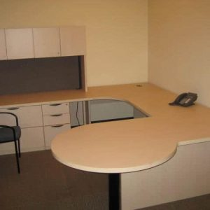 Used Steelcase U Shaped Desk