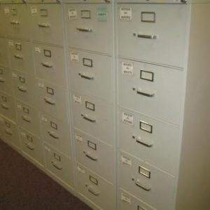 Steelcase Vertical 4 & 5 Drawer Filing Cabinets