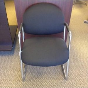 Used Steelcase sled base 421 chairs