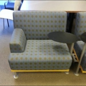 Used Tablet Arm Chairs With Built In Power