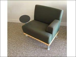 Used Martin Brattrud Tablet Arm Club Chairs