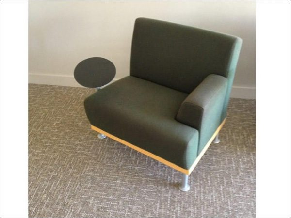 Used Tablet arm club chairs by Martin/ Brattrud