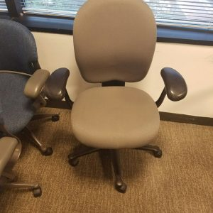 Used Herman Miller Ambi Office Chairs Tan Fabric
