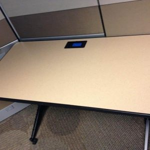 Used Training Table with Built In Power
