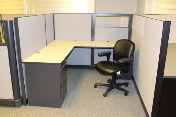 Used Trendway workstations for sale