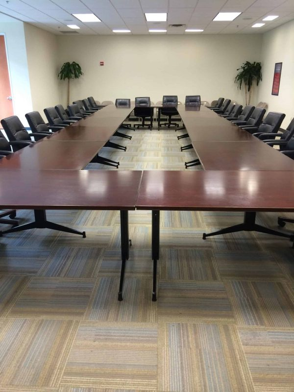 """Used Kimball 31""""x10' Conference Table"""