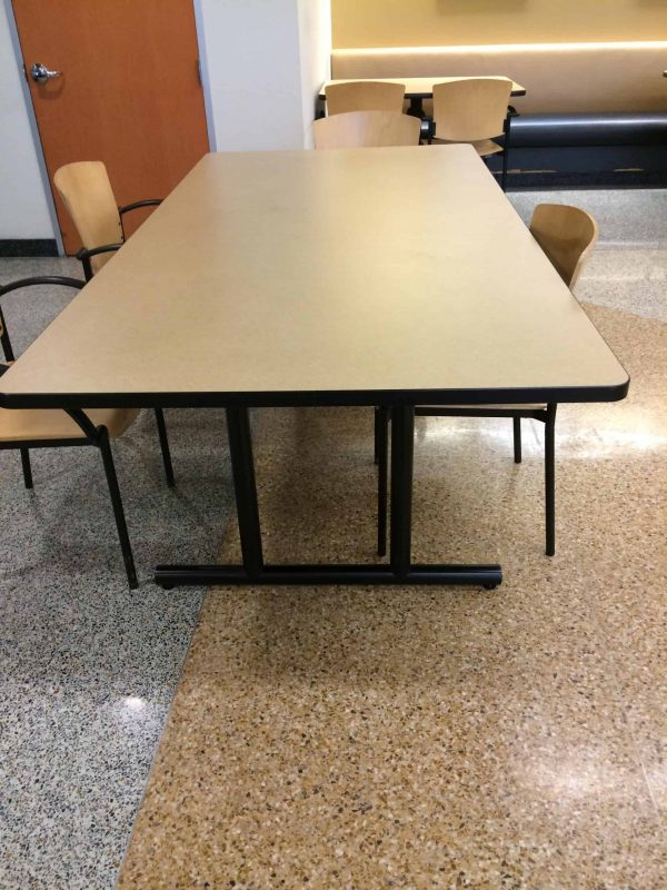 "Used 42"" x 7' Conference Table"