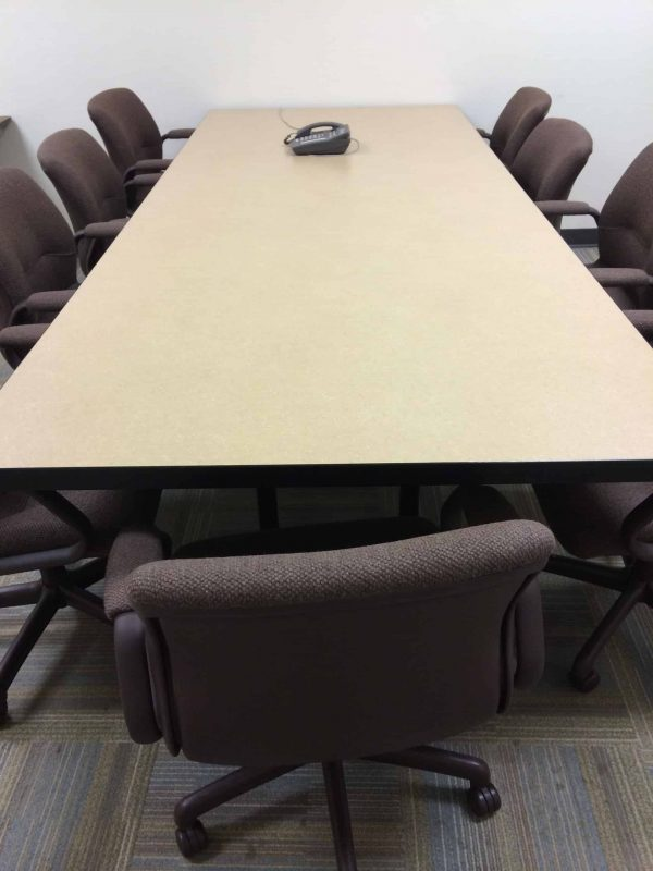 Used 4x10 Laminate Conference Table