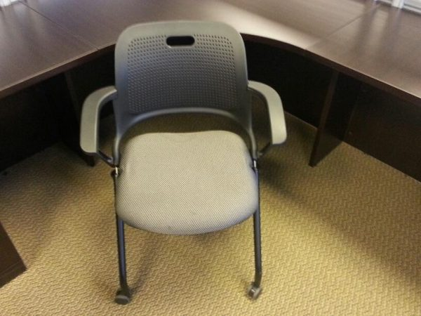 Used ALL-STEEL SEEK Nesting Chair with Castors
