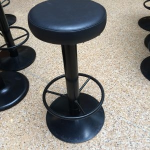 Used Black Steel Stools