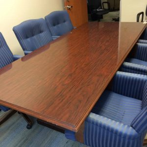 Used 43 in X 95 in Wood Conference Table