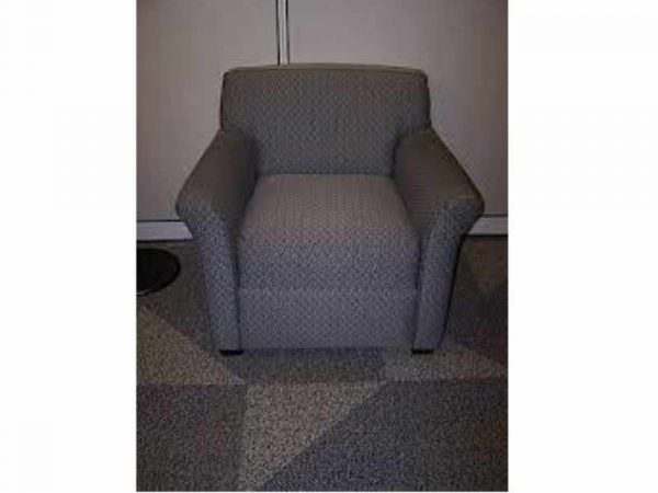 Used Grey Steelcase Lounge Chairs