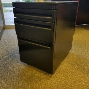 Used Haworth Box/Box/File Mobile Pedestals