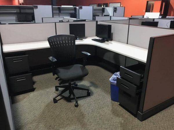 Herman Miller AO2 Cubicles For Sale Used