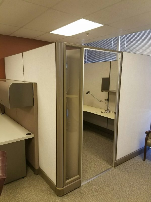 Used Herman Miller AO2 Cubicles 82in High
