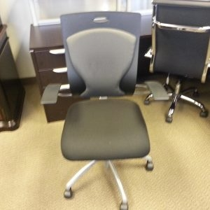 Used High Back Black Executive Chairs