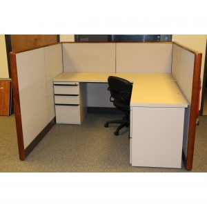 Used Kimball Cetra Cubicles 6x6x53
