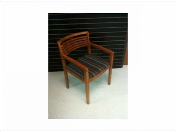 Used Knoll Wooden Guest Chairs Ricchio Collection