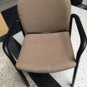 Used Stacking Chairs Gold-Beige