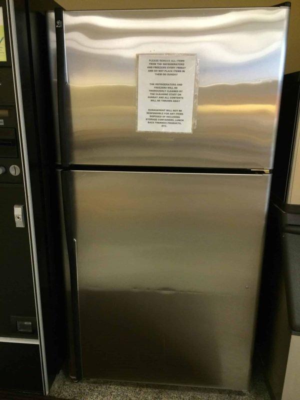 Buy Used Stainless Steel Refrigerator