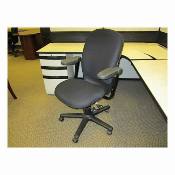 Used Steelcase Drive Chairs Black on Black