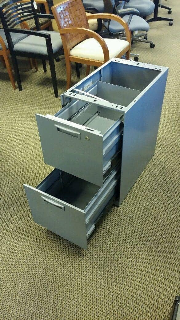 Used Steelcase File Pedestals