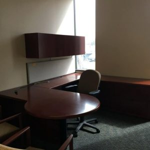 used 7x8 steelcase U Shape office desks