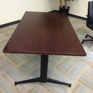 Used 3'x5' Dark Cherry Training Tables