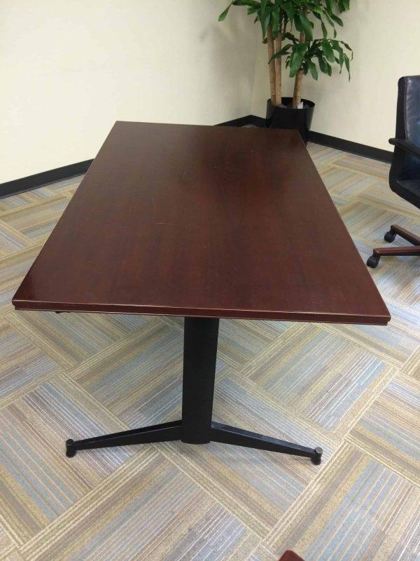 Used 3'x5' Dark Cherry Training Tables