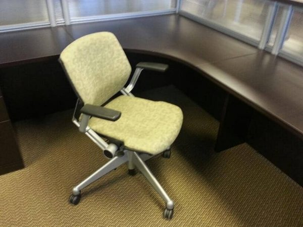 Used Steelcase Vecta Kart Flip and Nest Chairs