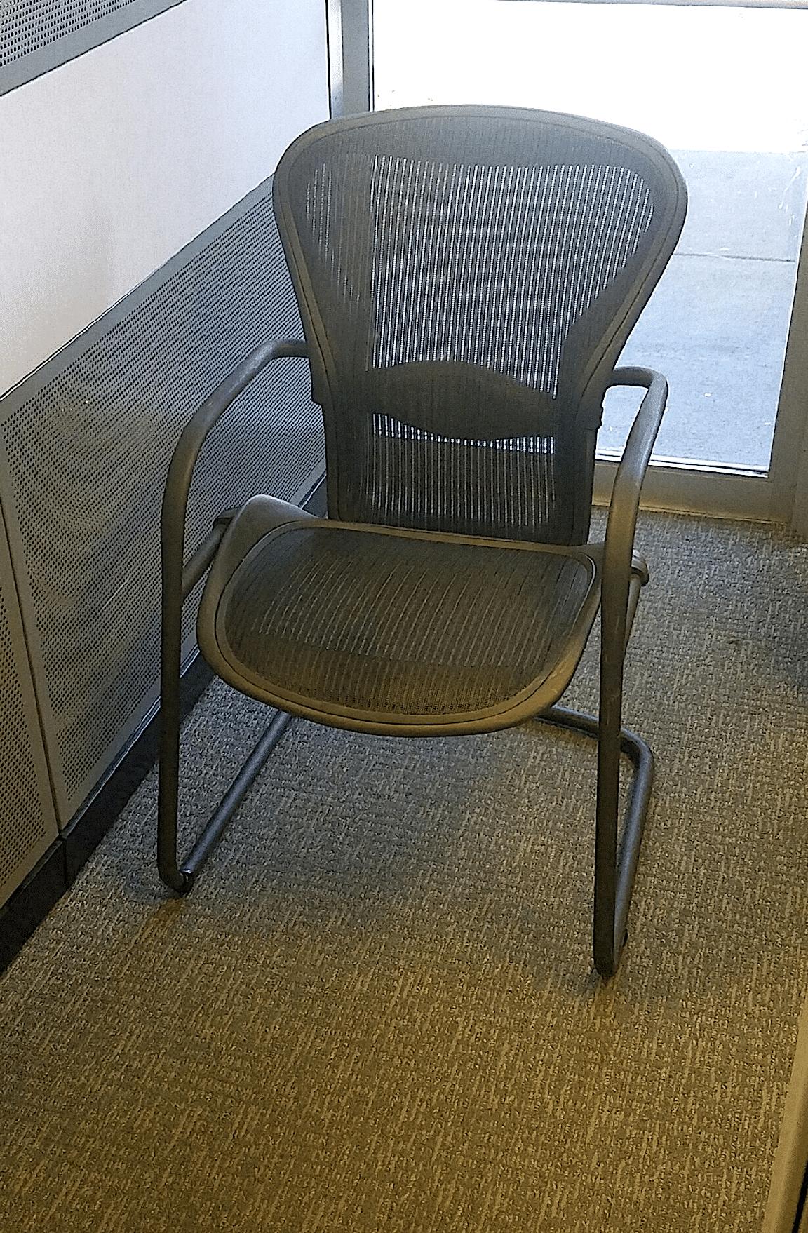 Herman Miller Aeron Side Chairs