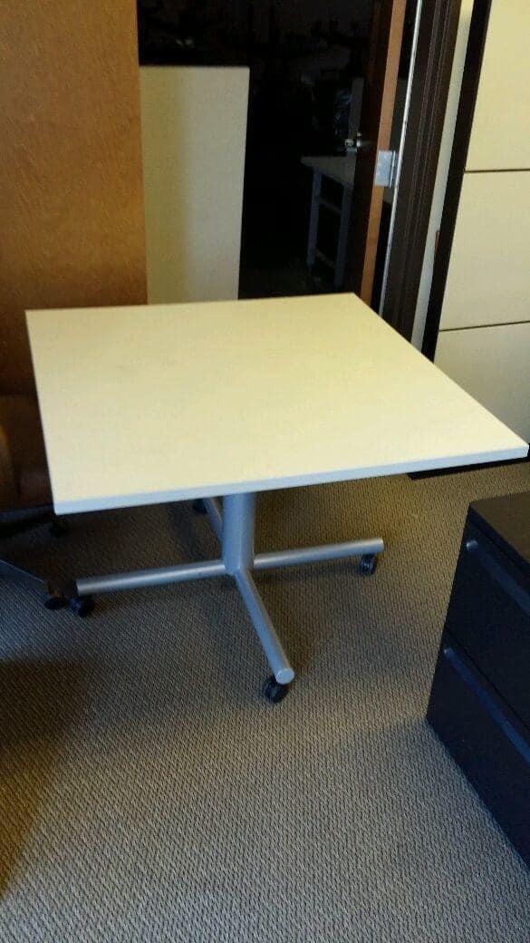 """Used 42""""x42"""" Adjustable Break Room Tables"""