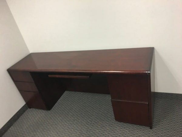 Paoli Desk and Credenza Sets Used