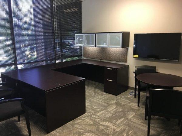 Espresso Collection Private Executive Office Furniture