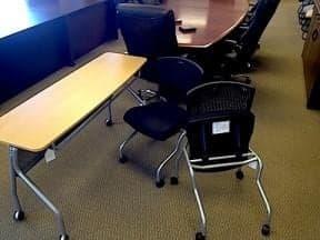 Used Folding Training Tables