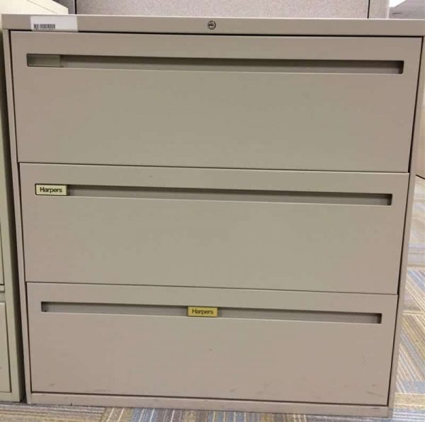 Harper 3 Drawer Lateral File Cabinets